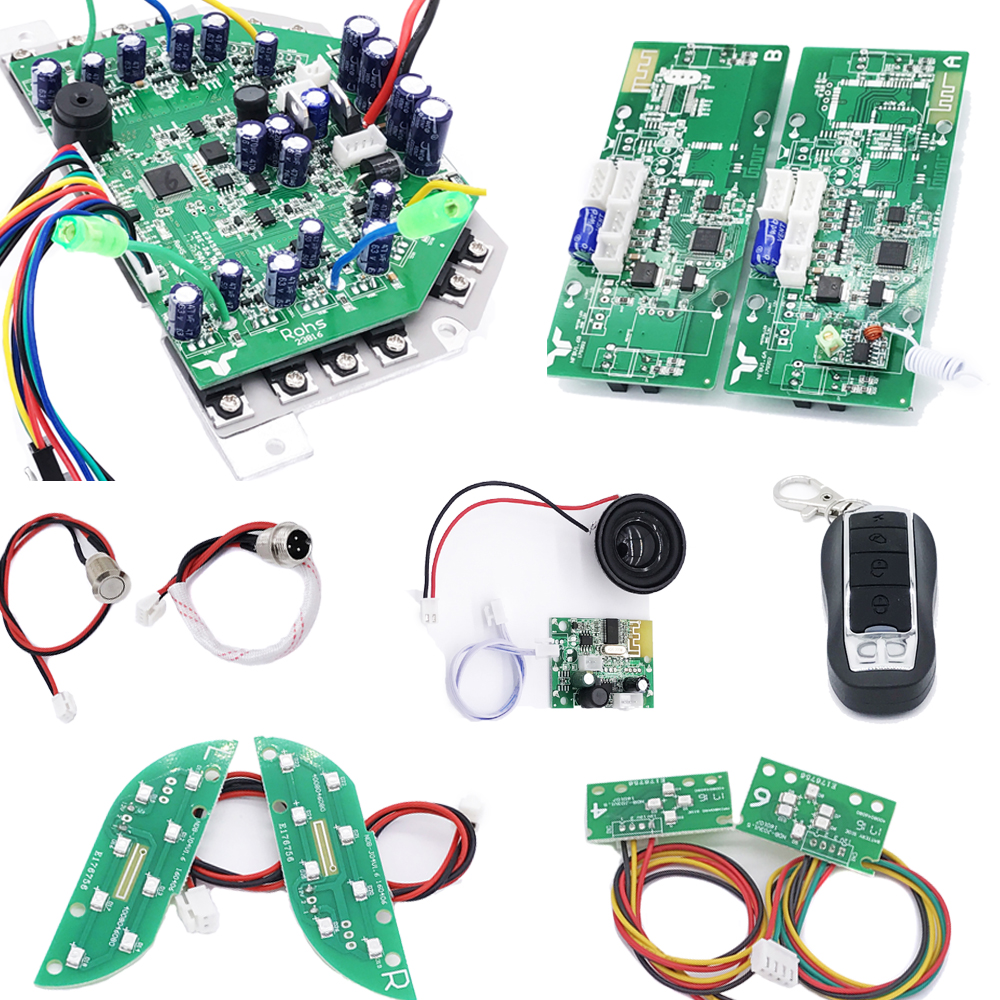 Scooter Motherboard Wi Bluetooth Module Speaker Rc Controller For Circuit Hoverboard 2 Wheels Smart Balance Electric Skateboard Flash Skates
