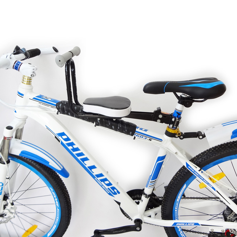 Scooter electric bike children seat front mountain bicycle