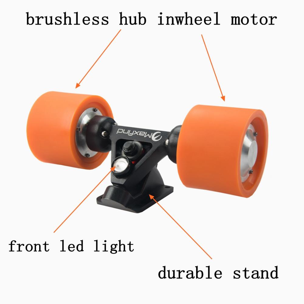 Electric Skateboard Hub Daul Motor Kit For Adult Children