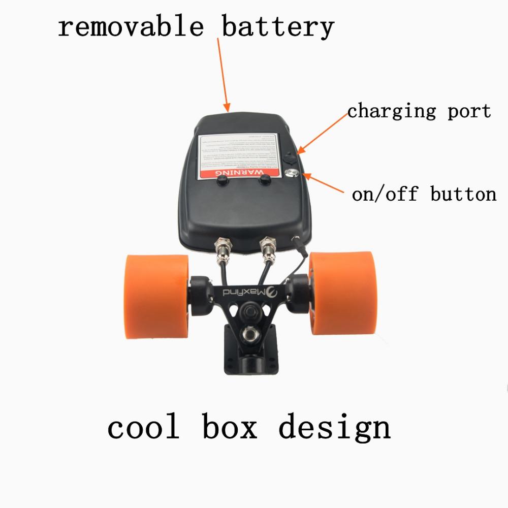 Electric skateboard hub daul motor kit for adult children for Scooter hub motor kit